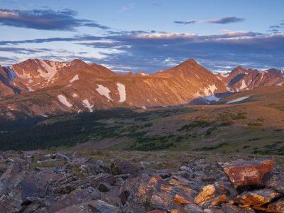 rocky, mountainous landscape