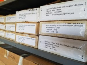 samples stored at the hubbard brook archive for potential reuse