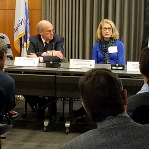 Panel of LTER investigators discussing ecosystem resilience at the National Science Foundation.