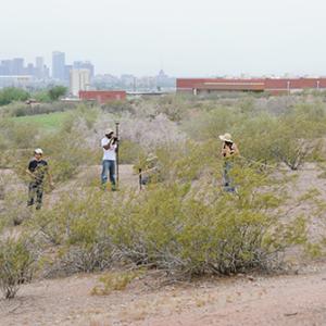CAP fieldwork in an urban desert park