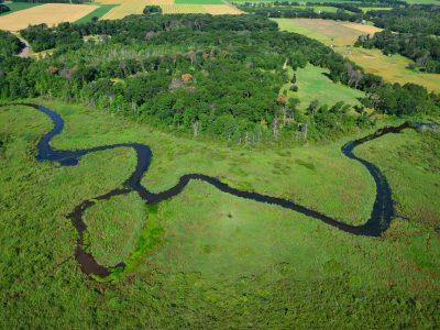 Aerial of Cedar Creek