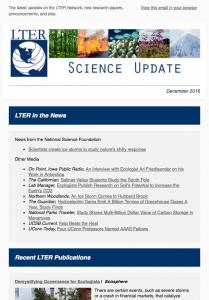 science update, December 2016