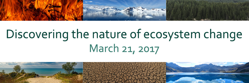 title bar: Discovering the Nature of Ecosystem Change