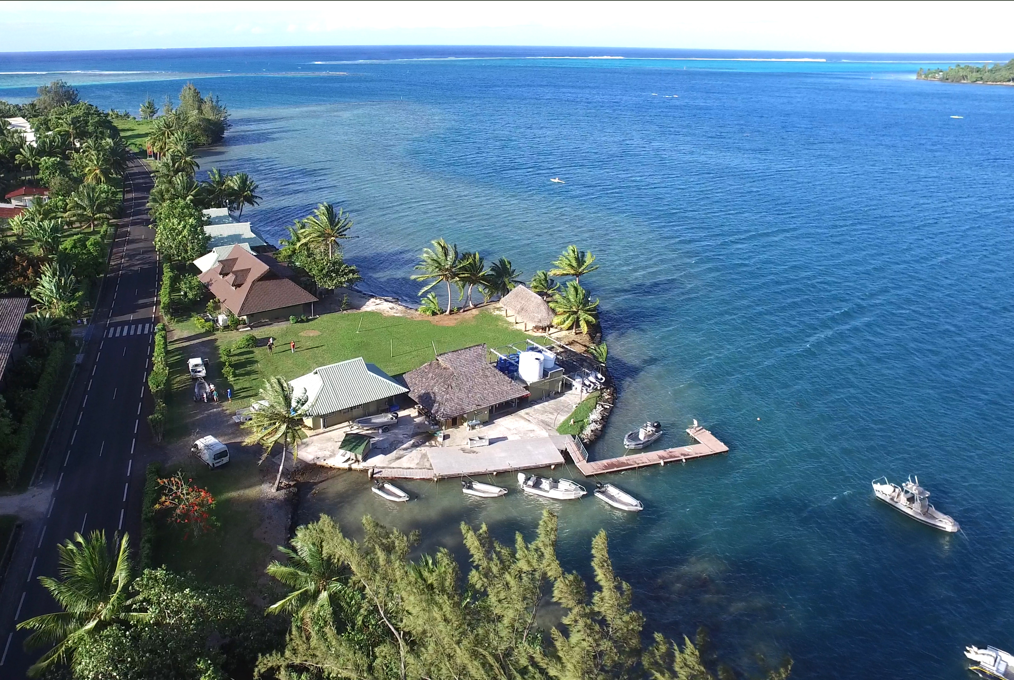 Richard B. Gump South Pacific Research Station. Moorea