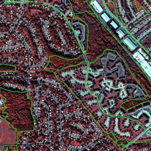 aerila image of baltimore naighborhoods