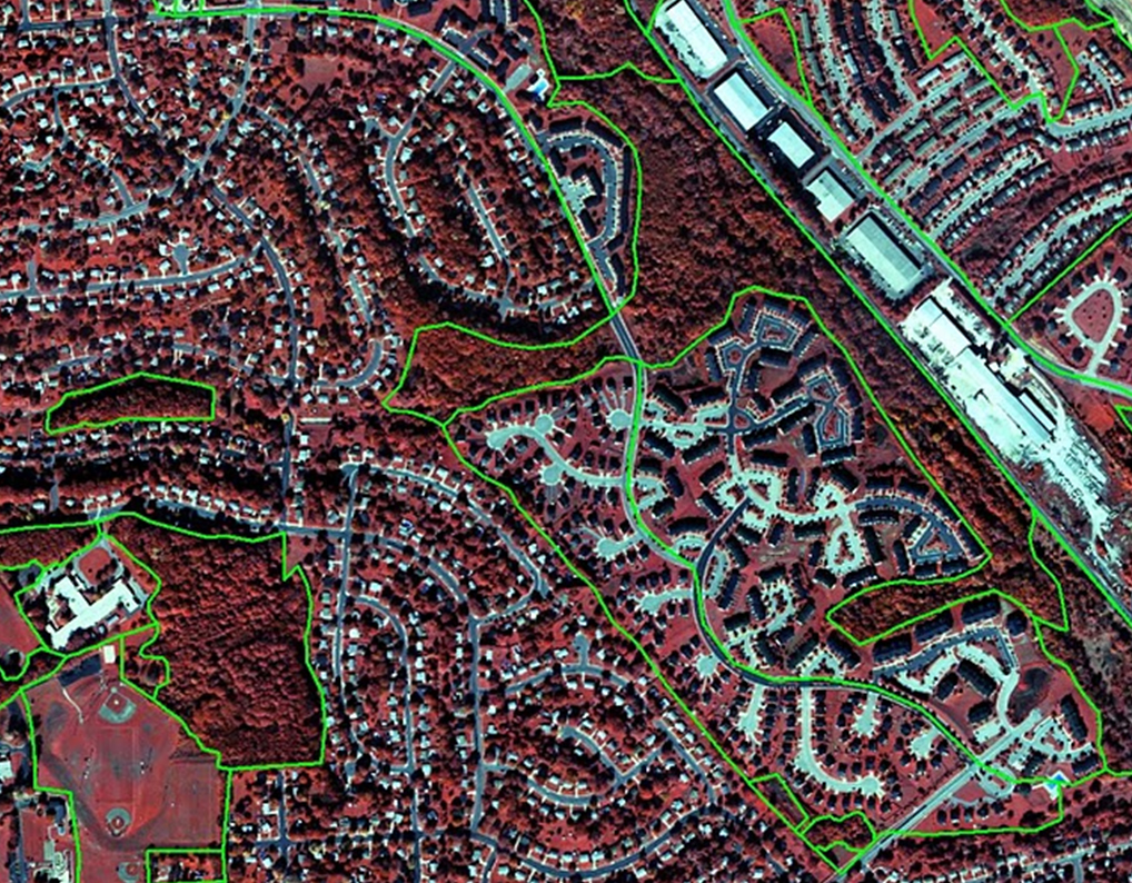aerila image of baltimore naighborhoods