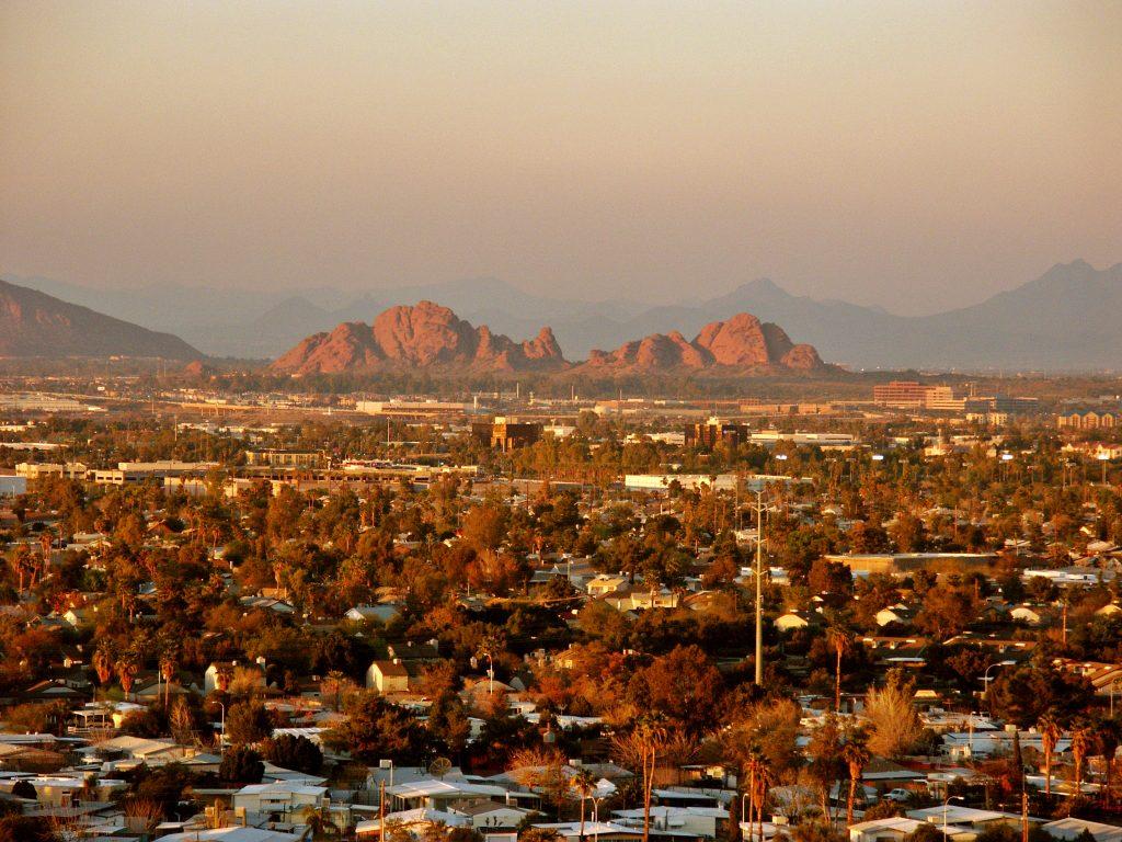 cityscape phoenix AZ