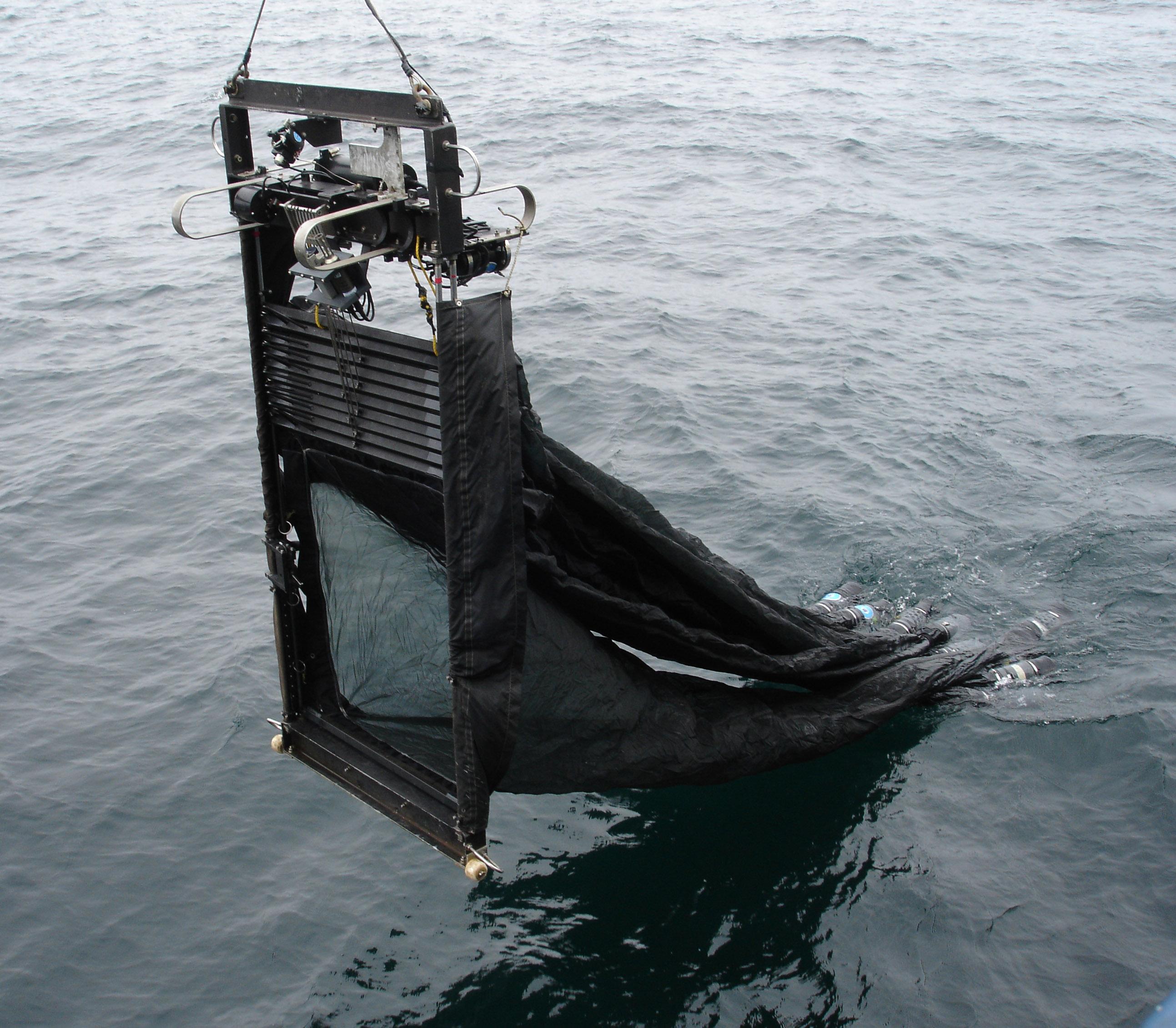 complex plankton tow net