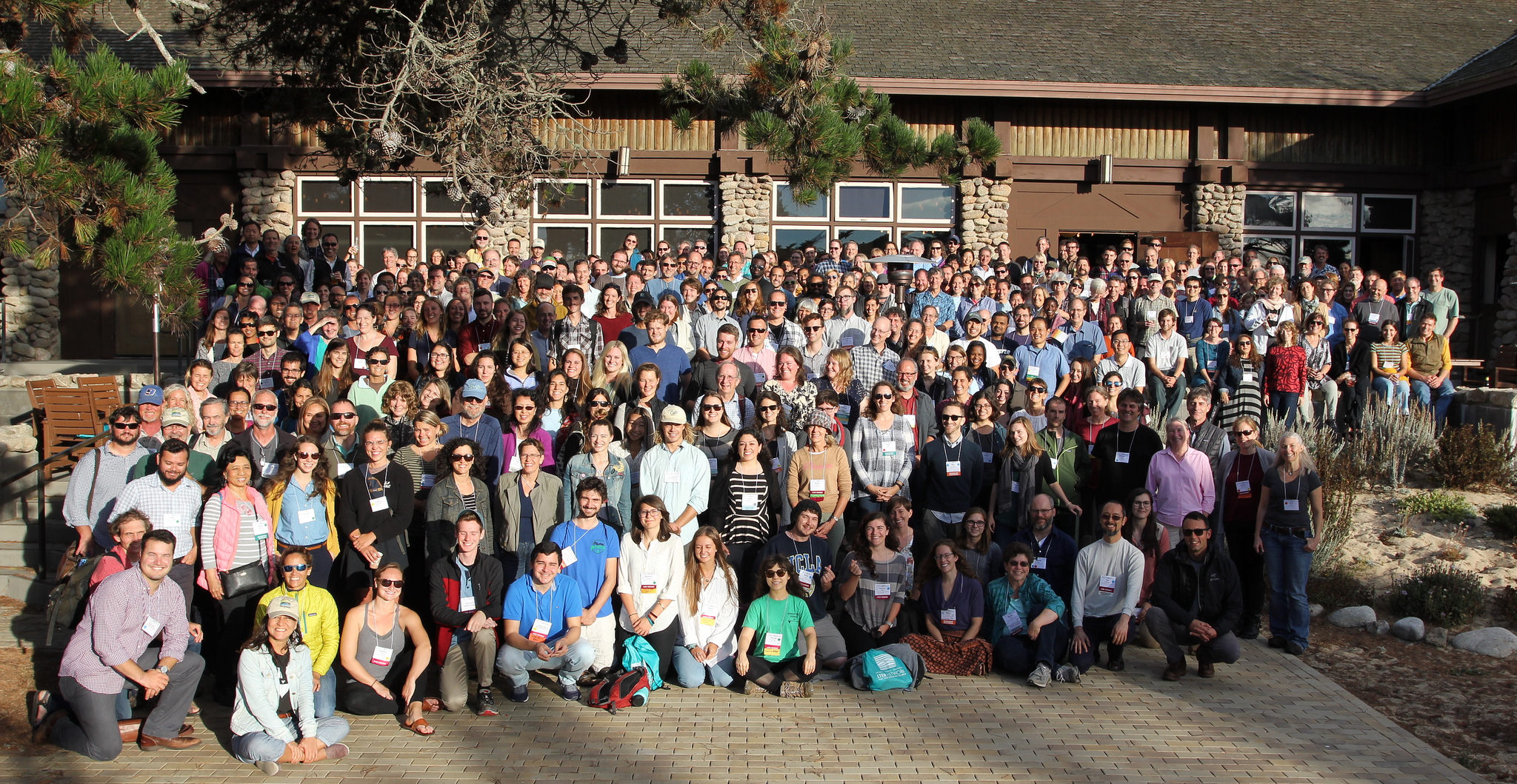 Group photo at Asilomar 2018 All Scientists Meeting)