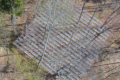 One of the DroughtNet plots seen from above.