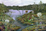 Crystal Bog by Jessica Jabs, Drawing Water resident 2017