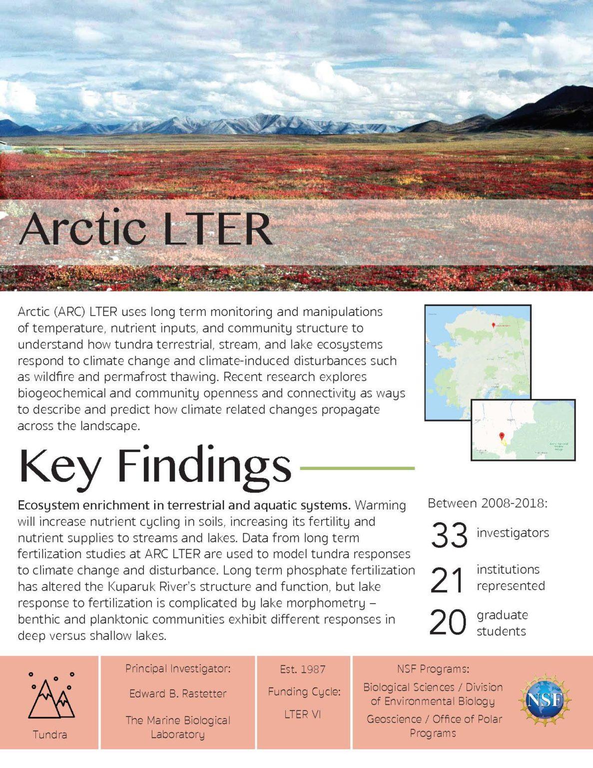 Arctic LTER Site Brief 2019