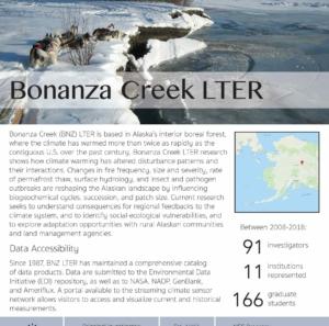 Bonanza Creek LTER site brief