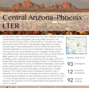 Central Arizona-Phoenix LTER site brief