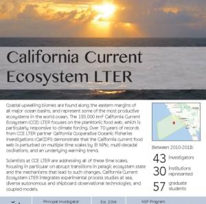 California Current LTER site brief 2019