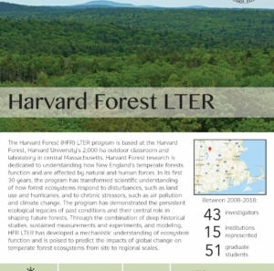 Harvard Forest LTER site brief 2019