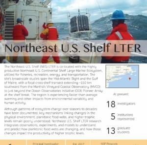 Northeast U.S. Shelf LTER site brief 2019