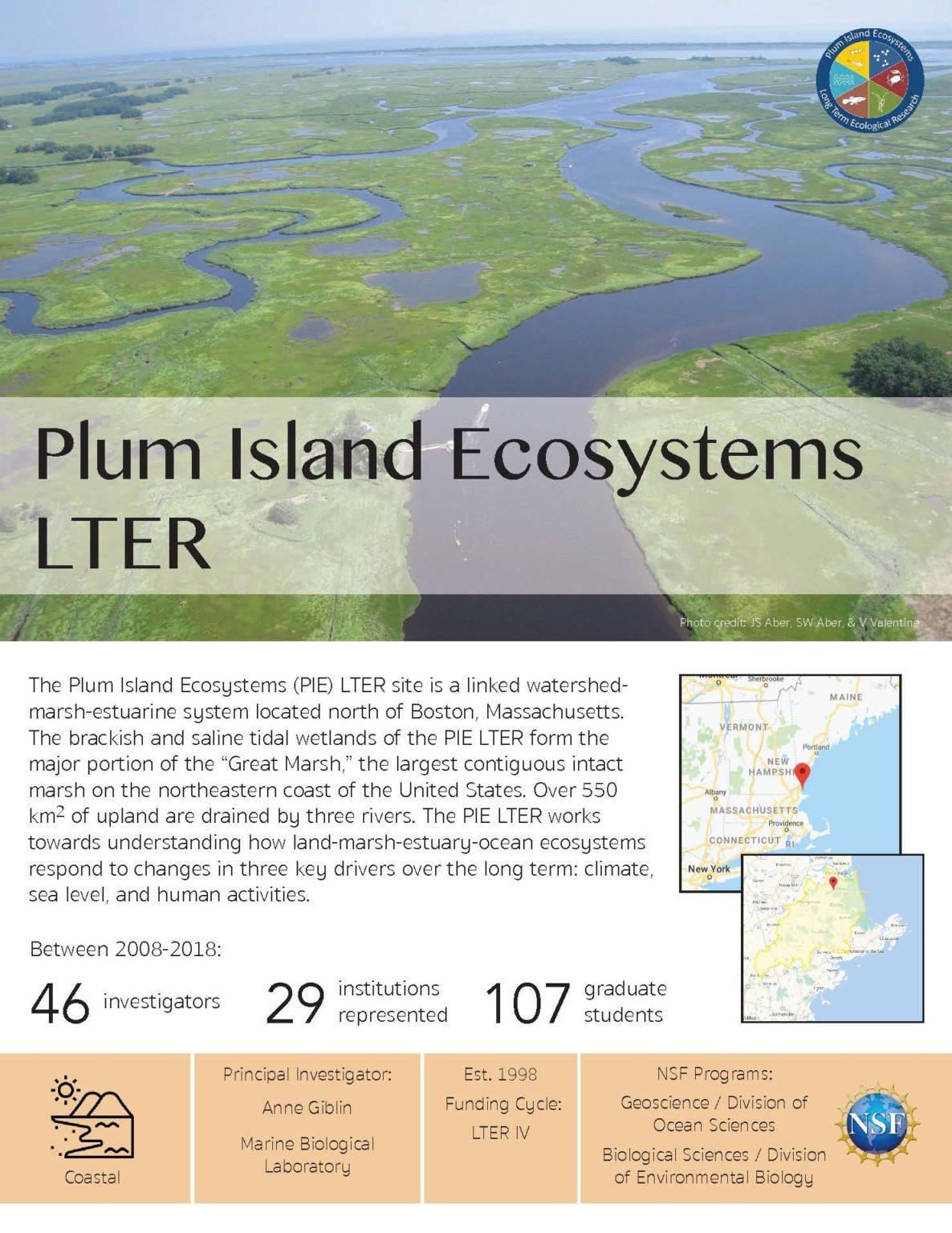 Plum Island Ecosystem LTER site brief