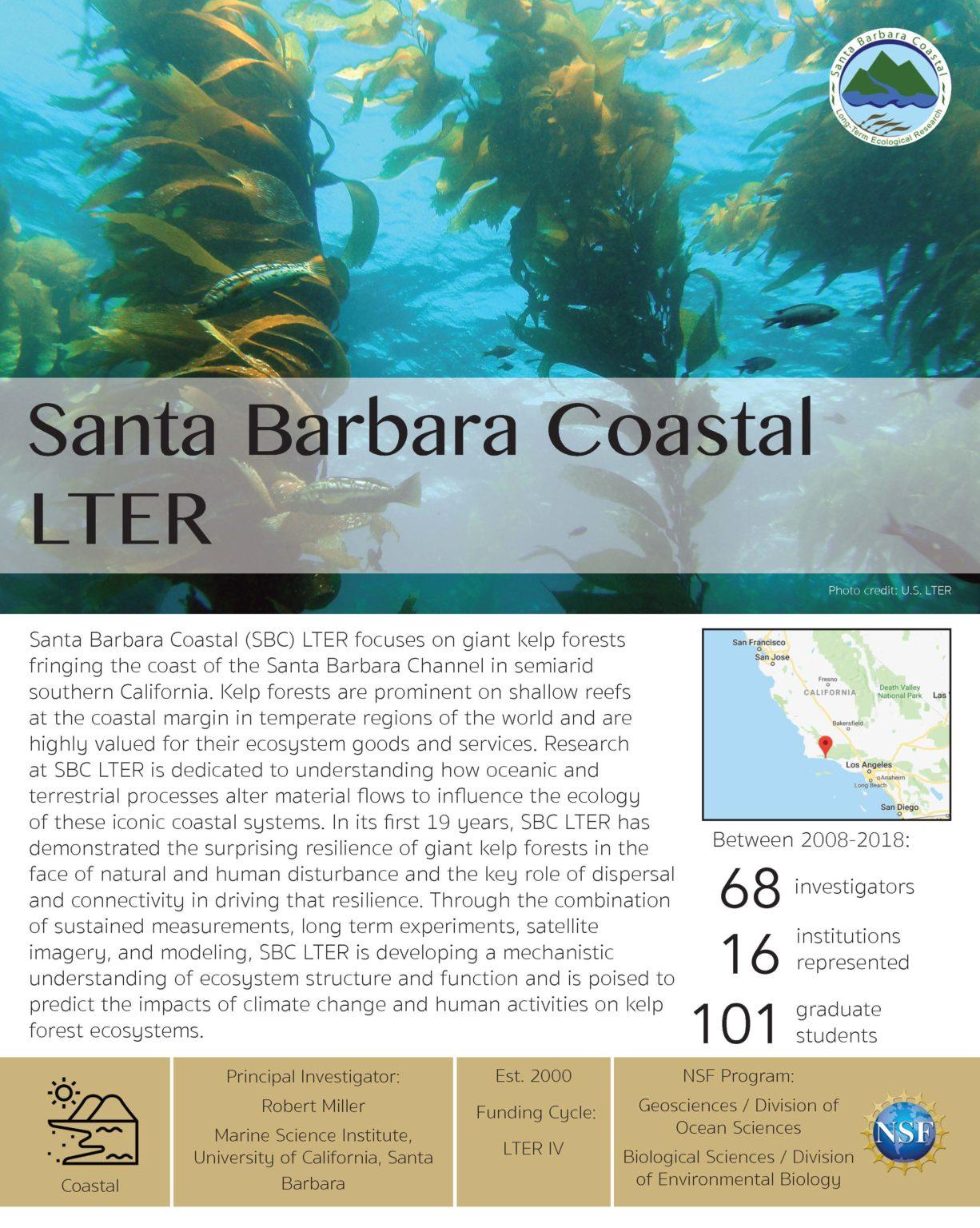 Santa Barbara Coastal LTER site brief 2019